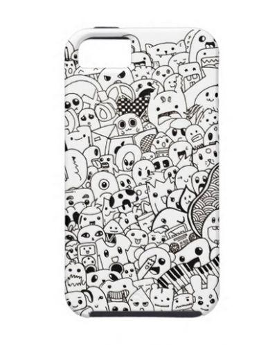 Калъф Doodle за iPhone 5 - 1