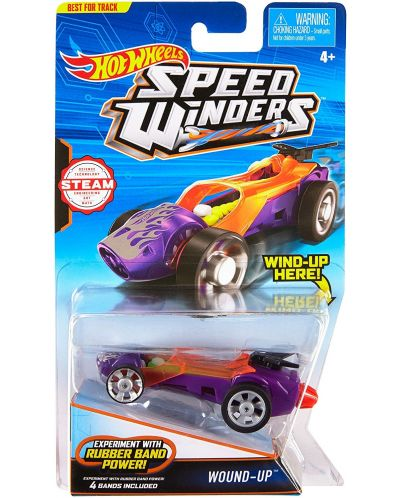 Количка Hot Wheels Speed Winders - Wound-up - 1