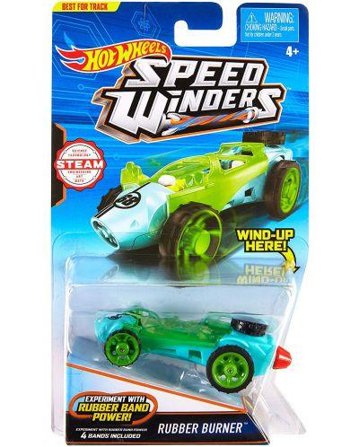 Количка Hot Wheels Speed Winders - Rubber Burner - 1