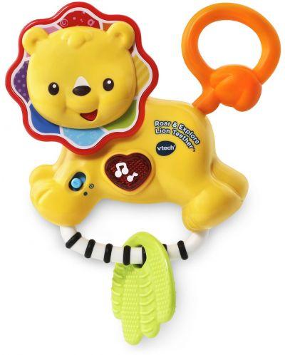 Бебешка дрънкалка Vtech - Лъвче - 1