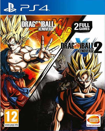 Dragon Ball Xenoverse + Dragon Ball Xenoverse 2 (PS4) - 1