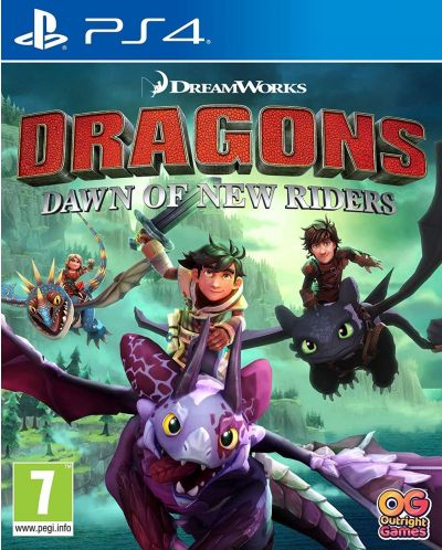 Dreamworks Dragons: Dawn of New Riders (PS4) - 1