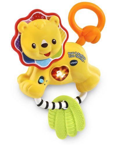 Бебешка дрънкалка Vtech - Лъвче - 2