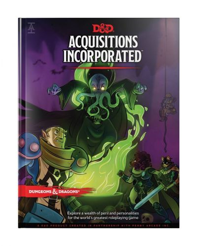 Ролева игра Dungeons & Dragons - Adventure Acquisitions Incorporated - 1