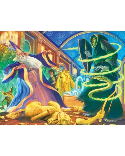 Пъзел New York Puzzle от 750 части - Дуелиране на магьосници - 1