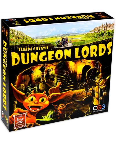 Настолна игра Dungeon Lords - 1