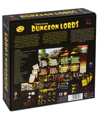 Настолна игра Dungeon Lords - 2