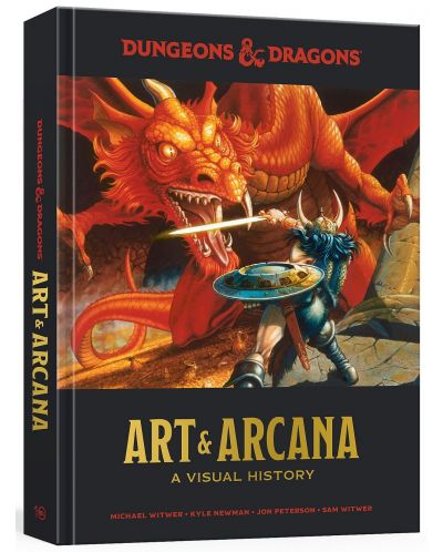 Dungeons and Dragons Art and Arcana: A Visual History (Hardcover) - 1