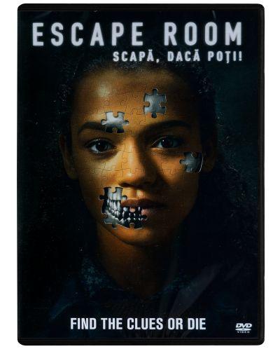 Escape Room: Играй или умри (DVD) - 1