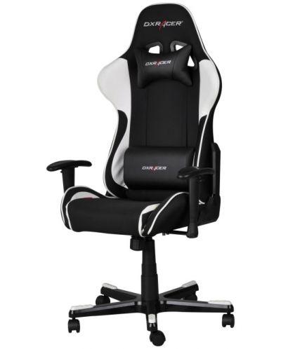 Геймърски стол DXRacer Formula - черен/бял (OH/FE11/NW) - 1