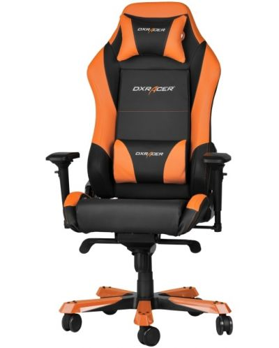Геймърски стол DXRacer Iron - черен/оранжев (OH/IF11/NO) - 1