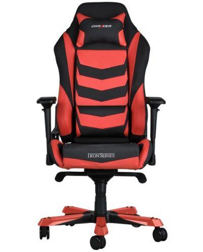 Геймърски стол DXRacer Iron - черен/червен (OH/IS166/NR) - 8