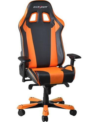 Геймърски стол DXRacer King - черен/оранжев (OH/KF06/NO) - 7