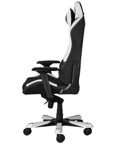 Геймърски стол DXRacer Iron - черен/бял (OH/IF11/NW) - 9