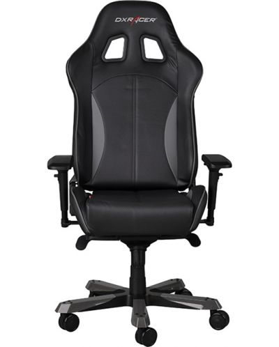Геймърски стол DXRacer King - черен/сив (OH/KF57/NG) - 5