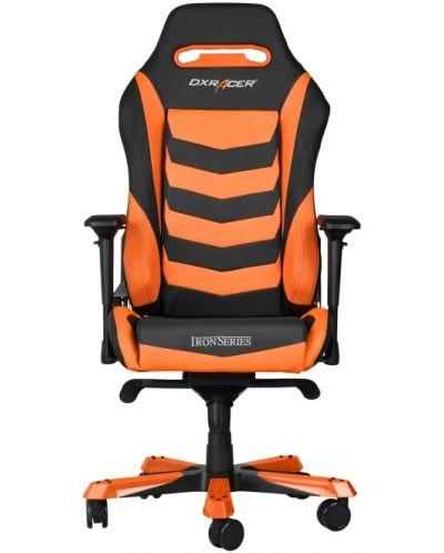 Геймърски стол DXRacer Iron - черен/оранжев (OH/IS166/NO) - 9