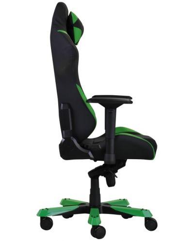 Геймърски стол DXRacer Iron - черен/зелен (OH/IS166/NE) - 9