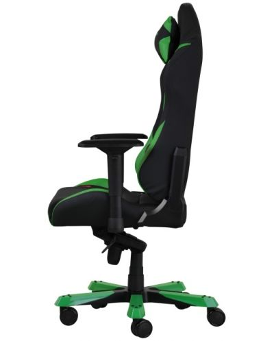 Геймърски стол DXRacer Iron - черен/зелен (OH/IS166/NE) - 11