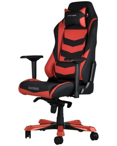 Геймърски стол DXRacer Iron - черен/червен (OH/IS166/NR) - 9