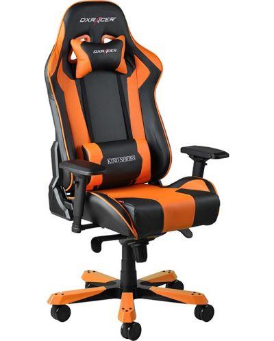 Геймърски стол DXRacer King - черен/оранжев (OH/KF06/NO) - 11