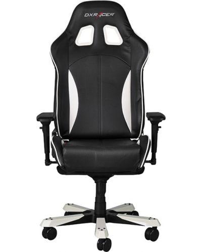 Геймърски стол DXRacer King - черен/бял (OH/KF57/NW) - 5