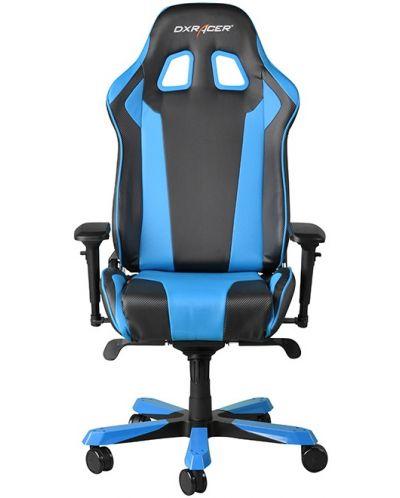 Геймърски стол DXRacer King - черен/син (OH/KF06/NB) - 11