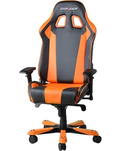 Геймърски стол DXRacer King - черен/оранжев (OH/KF06/NO) - 4