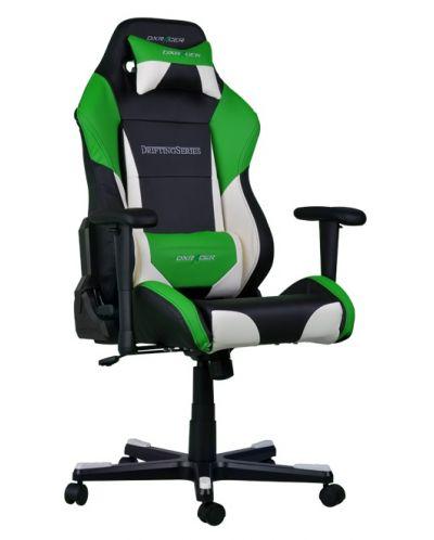 Геймърски стол DXRacer Drifting - черен/зелен/бял OH/DF61/NWE - 9