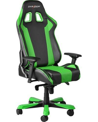 Геймърски стол DXRacer King - черен/зелен (OH/KF06/NE) - 10