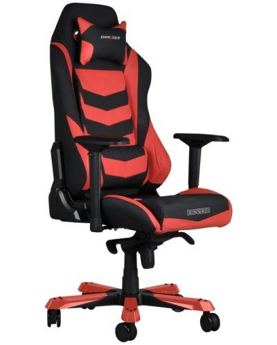Геймърски стол DXRacer Iron - черен/червен (OH/IS166/NR) - 10