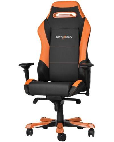 Геймърски стол DXRacer Iron - черен/оранжев (OH/IF11/NO) - 4