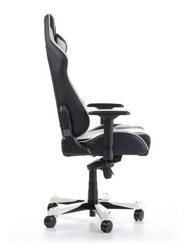 Геймърски стол DXRacer King, черен/бял - OH/KS06/NW - 8