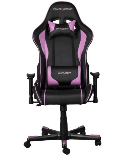 Геймърски стол DXRacer Formula - черен/розов (OH/FE08/NP) - 2