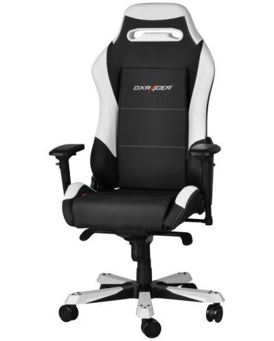 Геймърски стол DXRacer Iron - черен/бял (OH/IF11/NW) - 6