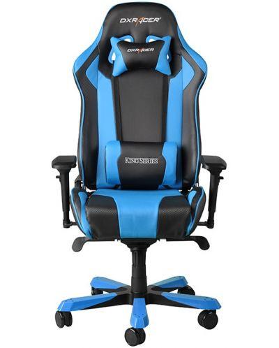 Геймърски стол DXRacer King - черен/син (OH/KF06/NB) - 5