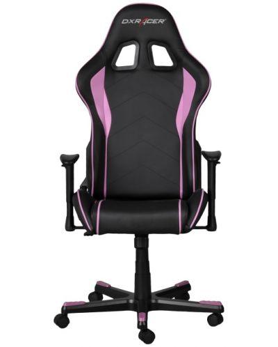 Геймърски стол DXRacer Formula - черен/розов (OH/FE08/NP) - 3