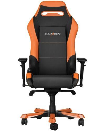 Геймърски стол DXRacer Iron - черен/оранжев (OH/IF11/NO) - 2