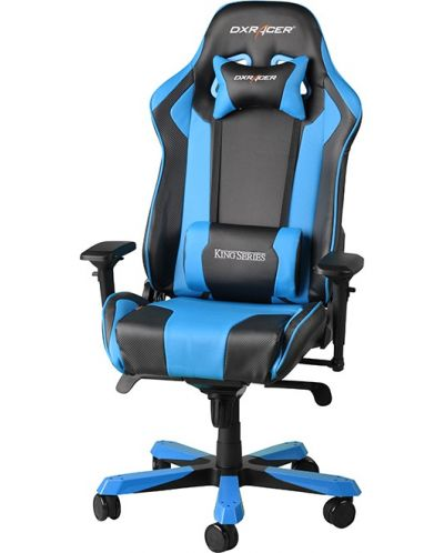 Геймърски стол DXRacer King - черен/син (OH/KF06/NB) - 1