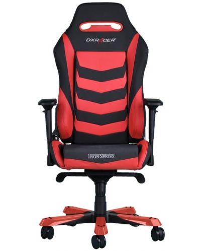 Геймърски стол DXRacer Iron - черен/червен (OH/IS166/NR) - 7