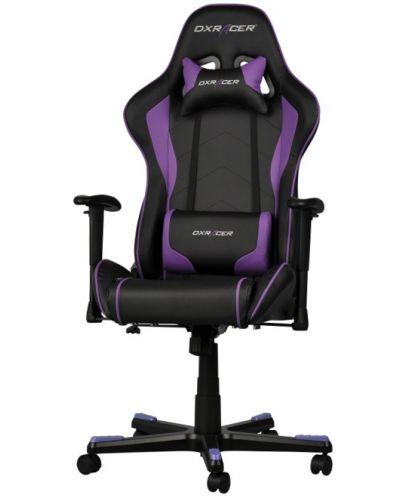 Геймърски стол DXRacer Formula - черен/лилав (OH/FE08/NV) - 1