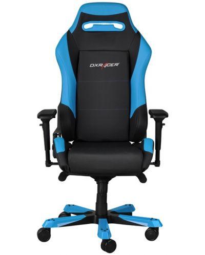 Геймърски стол DXRacer Iron - черен/син (OH/IF11/NB) - 2