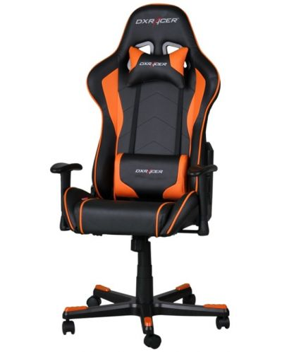 Геймърски стол DXRacer Formula - черен/оранжев (OH/FE08/NO) - 1