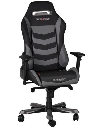 Геймърски стол DXRacer Iron - черен/сив (OH/IF166/NG) - 4