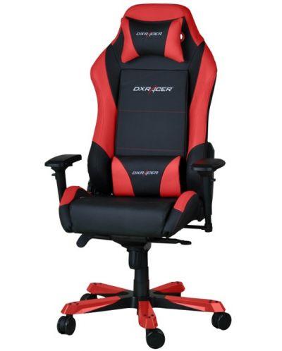 Геймърски стол DXRacer Iron - черен/червен (OH/IF11/NR) - 1