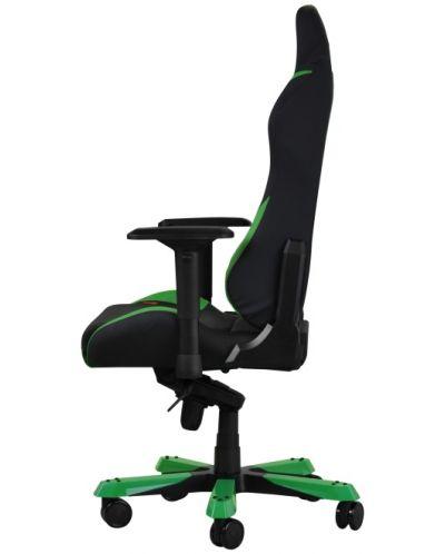 Геймърски стол DXRacer Iron - черен/зелен (OH/IS166/NE) - 10