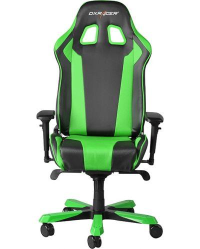 Геймърски стол DXRacer King - черен/зелен (OH/KF06/NE) - 5