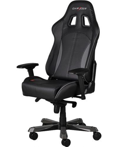 Геймърски стол DXRacer King - черен/сив (OH/KF57/NG) - 6