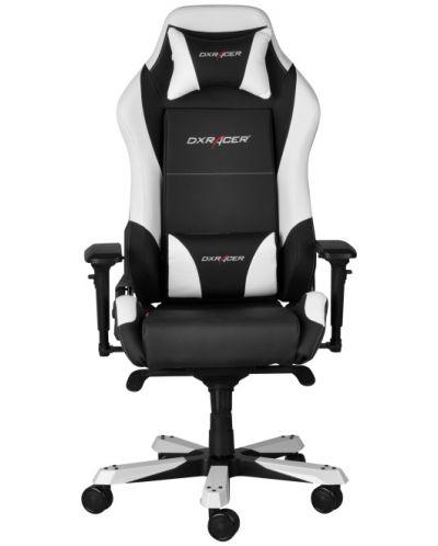 Геймърски стол DXRacer Iron - черен/бял (OH/IF11/NW) - 4