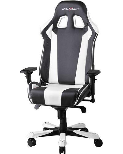 Геймърски стол DXRacer King - черен/бял (OH/KF06/NW) - 4