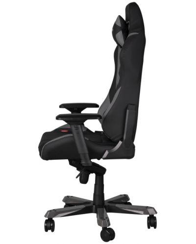 Геймърски стол DXRacer Iron - черен/сив (OH/IF166/NG) - 8